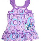 St. Eve Girls Beach Cover-up/Romper~Purple~Dolphin~Sizes-5, 6/6x, 7, 8, 10~NWT