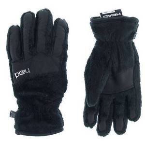 Head Jr.Thermal Fleece Winter Ski/Snowboard Gloves~BLACK~Sz-L-age-11-14NWT