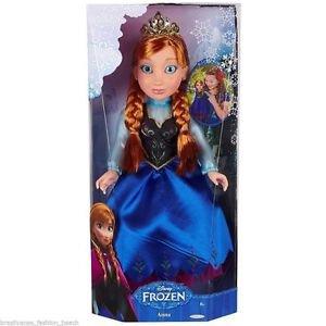 "DISNEY Frozen PRINCESS ANNA Doll~18""~Rare~NEW Sealed in Box"