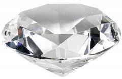 Clear Diamond Shape Designer Crystal