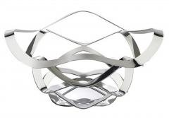 Cotillion Intricately Designed Stainless Steel Bowl