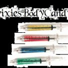 **New Price**   1 Brand NEW, pee YELLOW Syringe Pen, Medical, Gothic Novelty