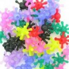 **New Price**   100 Atom Ticklers   assorted colours  pop on  Brand NEW