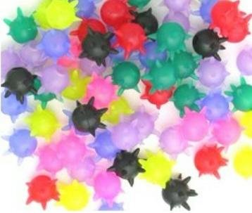 **New Price**   100 Mace Ticklers    assorted colours   pop on   Brand NEW