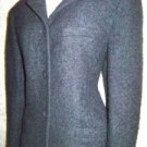 Women's size 6 LIZ CLAIBORNE Collection blazer jacket curly wool black career