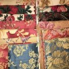 3 pounds high quality interior decorator samples upholstery fabric sewing crafts