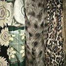 Lot 5 fashion scarves wraps long oblong nuetral colors CLAIBORNE JONES NEW YORK