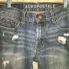 AEROPOSTALE Essex Straight denim blue jeans mens boys 28x28 distressed style