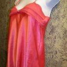 Women's size small S L'INTAMA babydoll nightgown spaghetti straps gathered bust