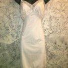 Vintage slip empire waist cream VAN RAALTE Suavette nylon beautiful lace mesh 30