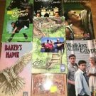 7 VHS VCR movie video tapes FEATURE FILMS FOR FAMILIES family friendly inspiring