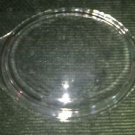 "Vintage ckear glass casserole dish cover lid oval domed 6.5X8.5X1.25"" Fire King?"