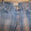 Men boy's 29/30 AEROPOSTALE AERO Benton faded boot cut jeans low - mid rise used