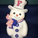 Florida Chilly Sarah's Attic snowman figurine red white blue NEW winter decor