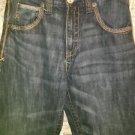 Men's boy's WRANGLER 20X relaxed fit straight leg pocket design blue jeans 31x27