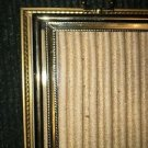 3 vintage gold metal embossed photo picture frames 4x6 3.5x5 easel wall wedding