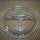 """Vintage glass CLUB ware wear lid 6"""" K11G ovenware heave round dotted pattern GVC"""