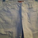 Light ivory chino low rise bermuda shorts women junior size 3 casual summer used