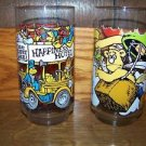 MUPPETS McDonald glasses 1981 vintage Great Caper EUC ~