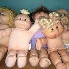 CABBAGE PATCH KID CPK Xavier Roberts dolls lot 5 red blond boy girl baby child