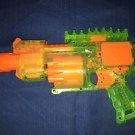Nerf N-Strike Barricade RV-10 sonic clear green motorized foam bullet toy gun