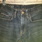 BULLHEAD all cotton Rincon Straight denim blue jeans mens boys 28x30 distressed