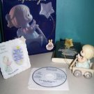 Wishes Begin w/ You PRECIOUS MOMENTS club package figure frame Greenbook CD set