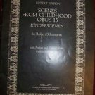 Scenes From Childhood Opus 15 classical piano music book Schumann Kinderscenen