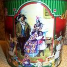 Decorative CHRISTmas cookie tin container BAKER'S ESTATE plantation African Amer