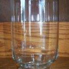 "Lg clear glass 6"" drink mixer pourer beaker no swizzle stick barware glassware"