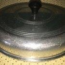 "Antique vintage heavy aluminum metal 8"" domed sauce pan pot lid top ONLY quality"