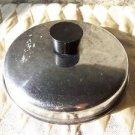 "6"" sauce pan oven heat proof handle lid top replacement stainless steel vintage"