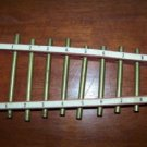 """Vintage children's xylophone wood brass 13"""" long musical instrument kid's toy"""