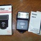 Dedicated thyristor electronic flash Cannon Nikon Ricoh camera VIVITAR 2800-D