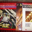 B flat trumpet cornet music books STANDARD OF EXCELLENCE ESSENTIAL ELEMENTS band