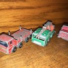 3 Vintage antique MATCHBOX Lesney diecast model toy trucks 1/24 scale #30 crane