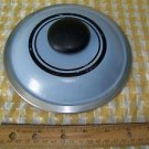 """Vintage aluminum sauce pan pot lid top replacement 7"""" blue black ring heavy duty"""