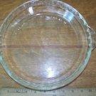 "9.5"" deep dish pie plate pan handled scalloped handles glass vntg PYREX M-23 229"