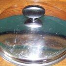 "Vintage ECKO stainless steel sauce pan skillet lid top cover stay cool handle 9"""