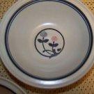 3 PFALTZGRAFF Windsong pink blue tulip flower stoneware soup salad cereal bowls