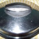 "Vintage Flint ECKO stainless steel 5.5"" sauce pan pot lid U.S.A. made long knob"