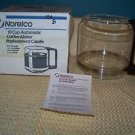 NORELCO unused 10 cup automatic coffee maker replacement carafe C164e C564e NOS