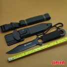 High Quality Stainless Steel Survival Knife Fixed Blade Knife Outdoor Self-defense Diving Kinfe