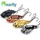 4 PCS/set Gearlly VI001 super quality 35mm 3.2g knife VIB all water range Hard Lures fishing lu