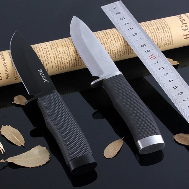 BUCK outdoor stainless steel counter stike Buck knive 56RHC fixed blade hiking outdoor survival