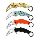 Fox Claw Knife 4 Colors Karambit Knife 5CR13 Stainless Steel 57HRC Hardness Camping Folding Bla