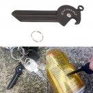Functional EDC Gear Outdoor Pocket Tools Easy Carry Bottle Opener Mini Knife Travel Kit TM9 BC1906