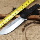 TOPS Fieldcraft Brothers of Bushcraft Tactical Fixed Knife,9Cr18Mov Blade G10 Handle Hunting Su