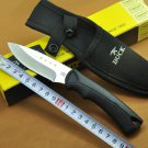 Outdoor Camping knife  Buck Fixed Blade Stainless Steel Knives Hardness Utility Camping Knife E
