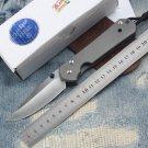 Hot Great sebenza 21 D2 TC4 titanium handle folding knife camping hunting outdoor survival tool
